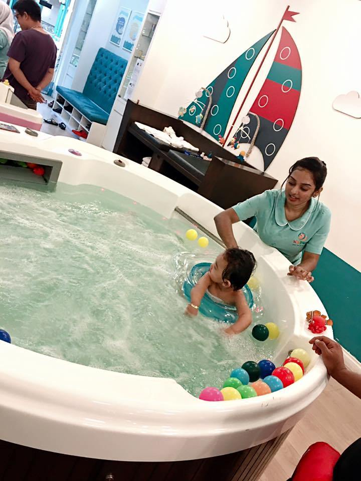 Let Your Baby Experience Swimming and Spa at Johor Bahru ...