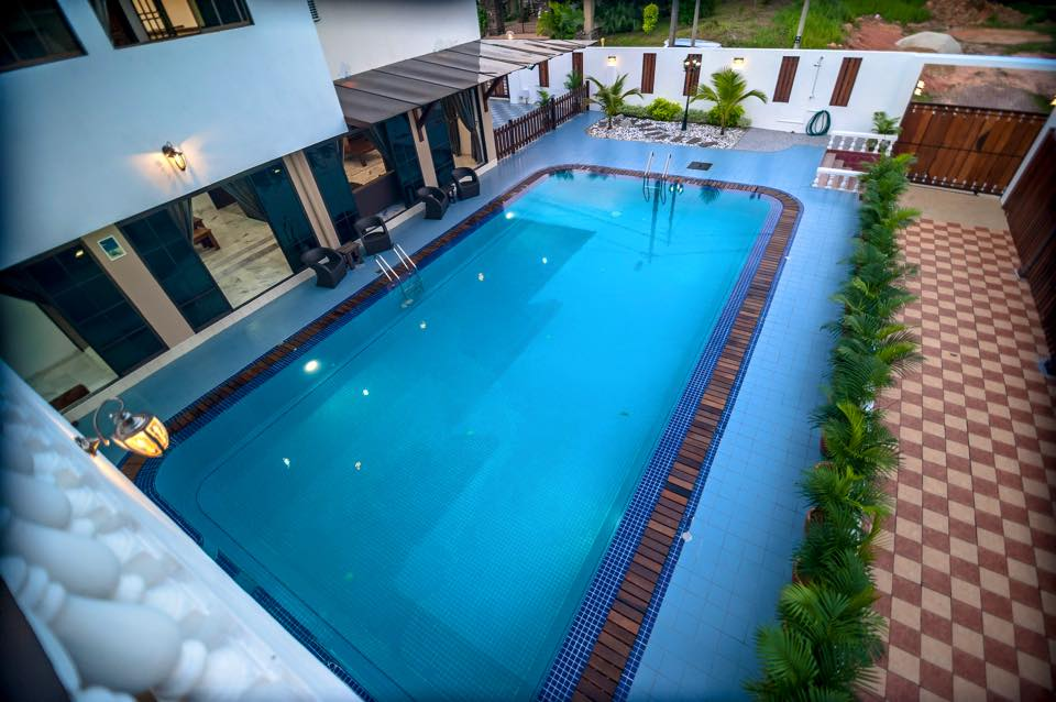 3 private homestay villas in johor with pretty pools that are perfect for a pool party johor now for Private swimming pool malaysia
