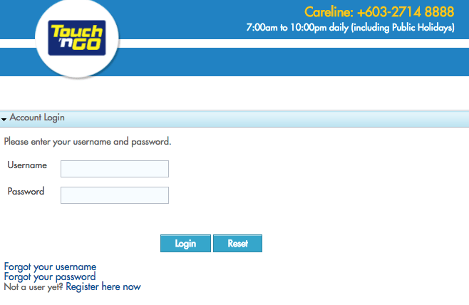 Touch N Go Simple Steps To Check Online Balance And Rebates Johor Now