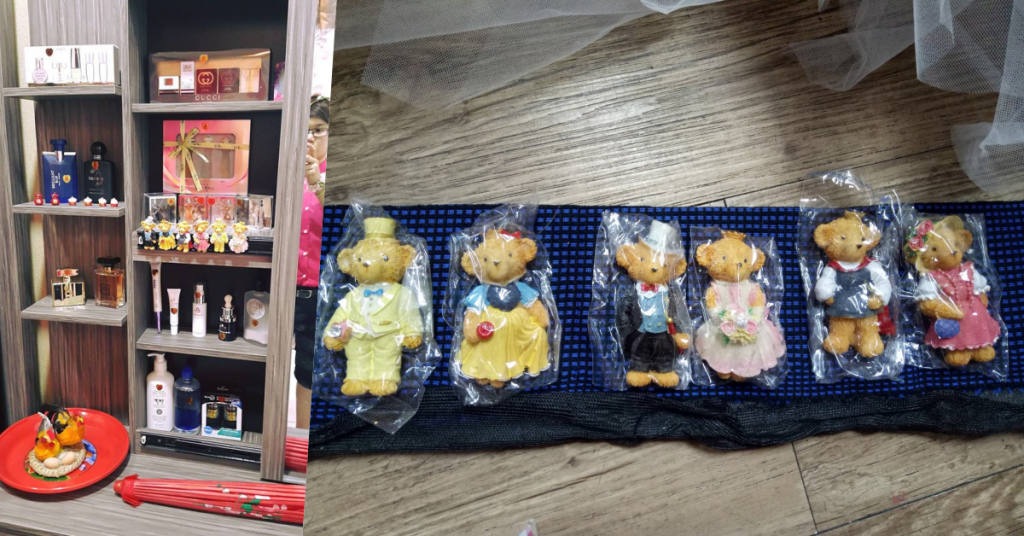 taobao: teddy bear refrigerator sticker giveaways