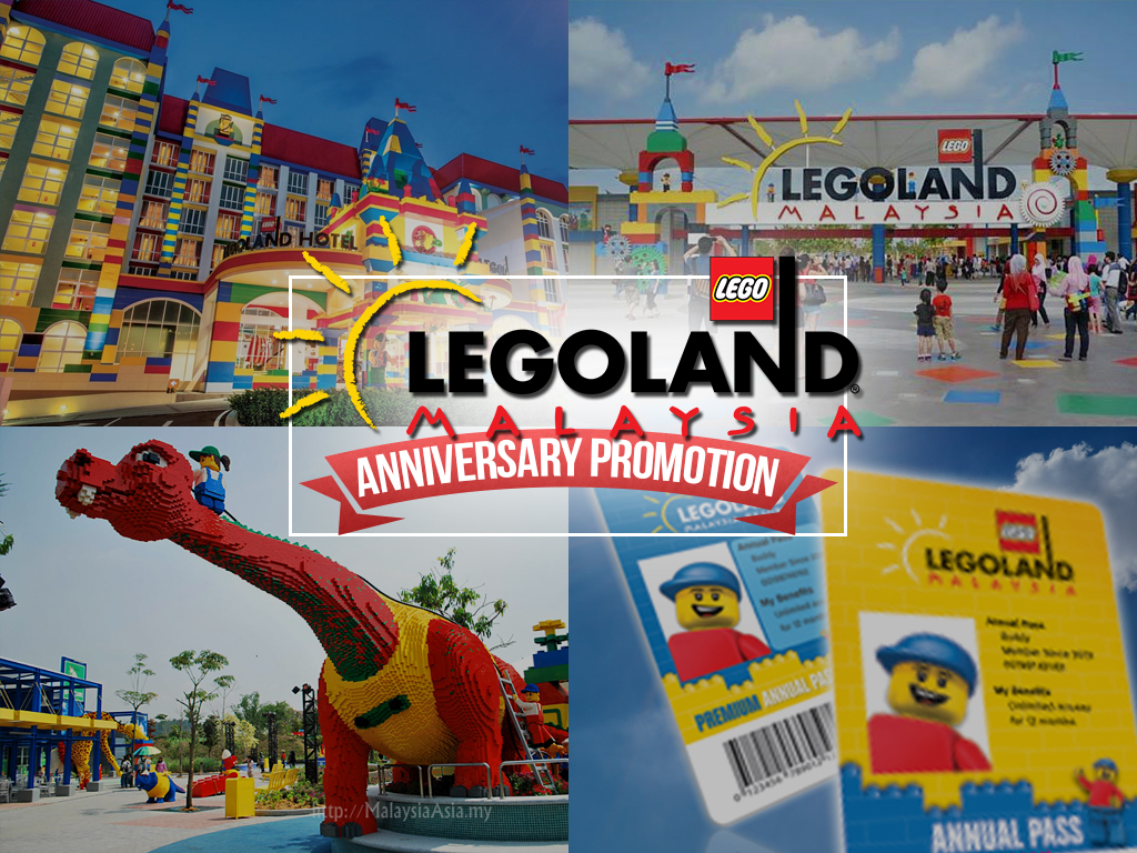 LEGOLAND's Anniversary Offer to Johoreans: Annual Pass for ...