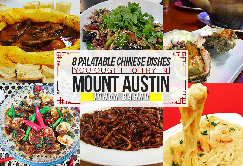 8 Palatable Chinese Dishes You Ought To Try In Mount Austin Johor