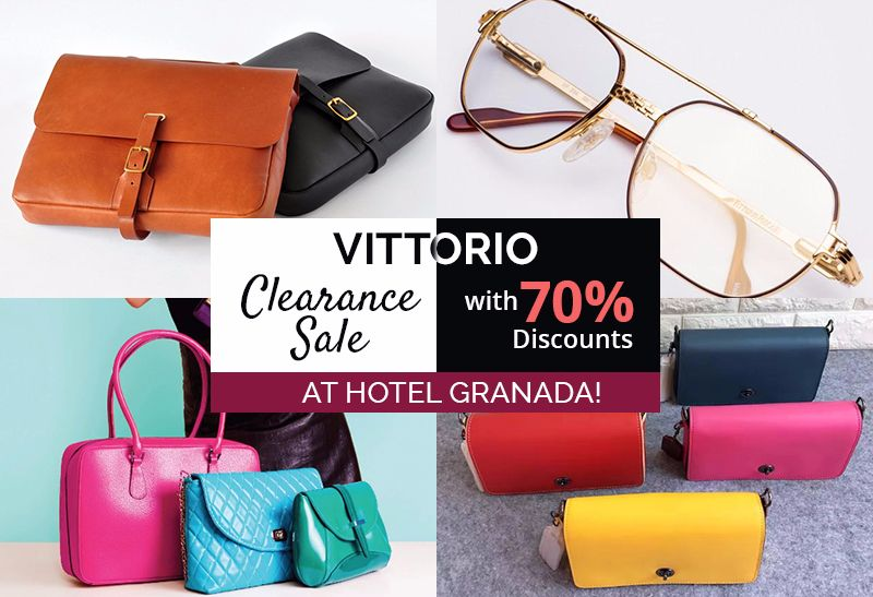 6b99a0ac7b77 Bag New Bags at Vittorio Clearance Sale With 70% Discounts! - JOHOR NOW