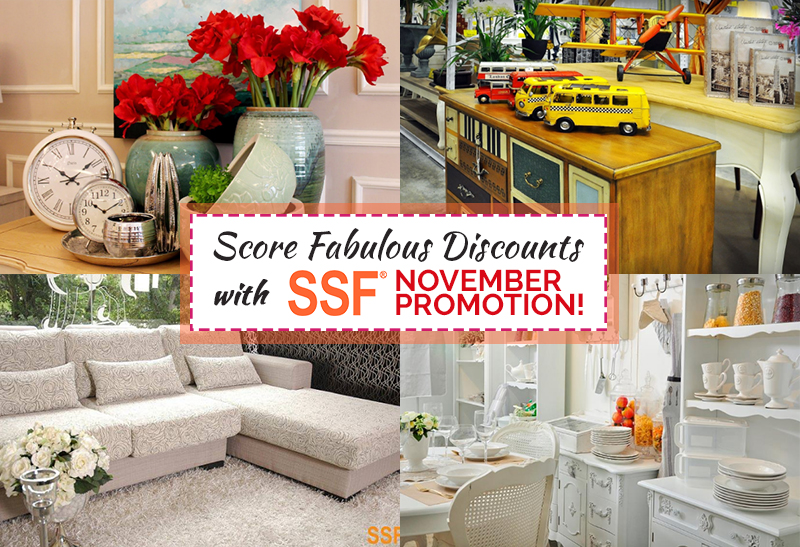 Score Fabulous Discounts With SSF November Promotion