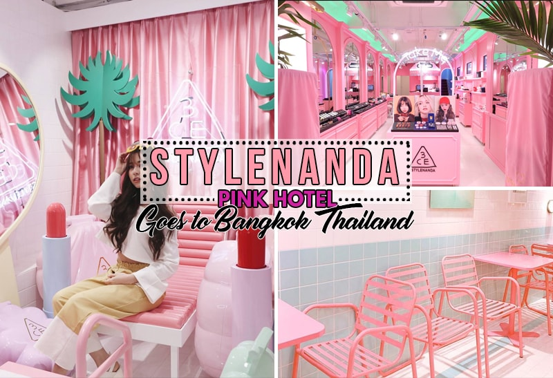 Get Ready for the Pink Craze as STYLENANDA Pink Hotel