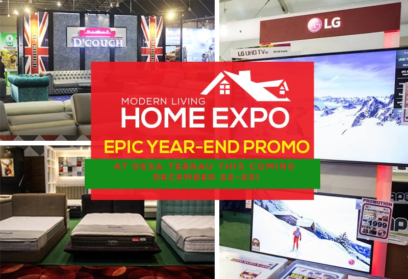 Makeover Your Home By Scoring Up To 80 Off At Modern Living Home Expo At Desa Tebrau Johor Now