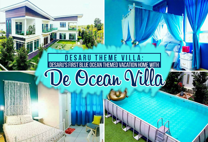 escape the busy city life at this blue ocean themed resort in desaru