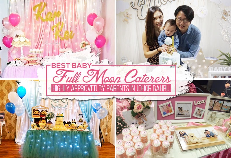 Baby Gift Johor : Baby full moon caterers highly approved by parents in