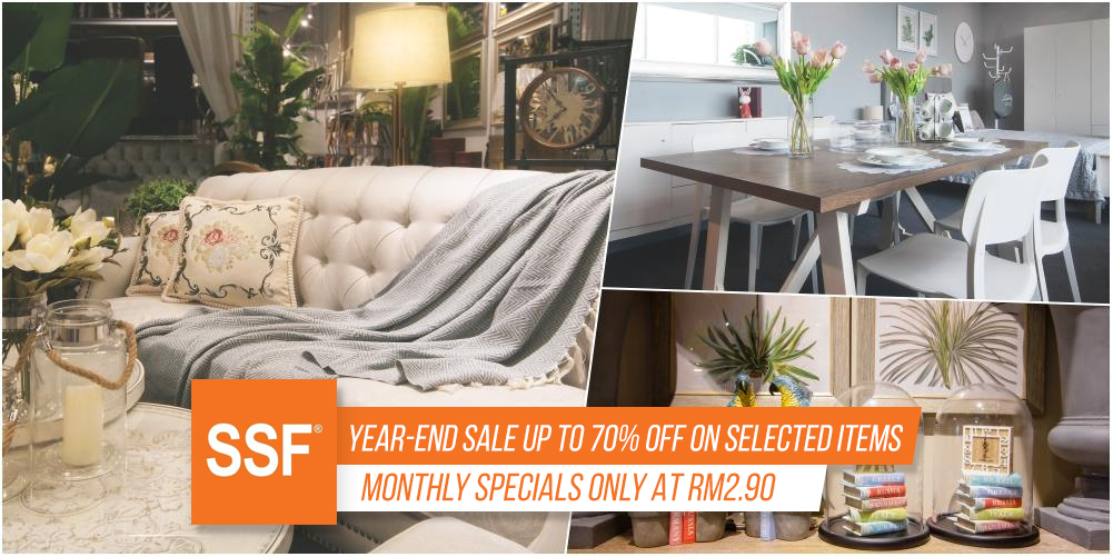 Genial Give Your Home A New Year Look!] SSF Year End Sale Up To 70 ...