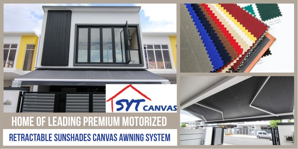 Syt Canvas Home Of Leading Premium Motorized Retractable Sunshades Canvas Awning System Johor Now